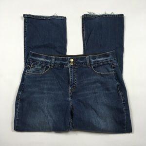 Lane Bryant Bootcut Jeans Womens Plus Size 18